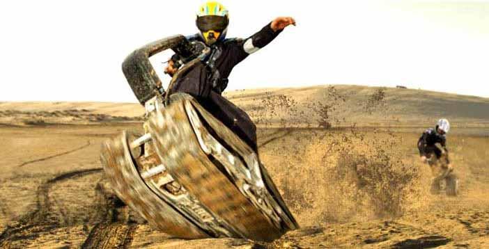 DTV Shredder – скейтборд-танк для апокалипсиса
